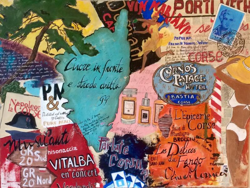 Corsica - Thème :  La Corse selon Cacou