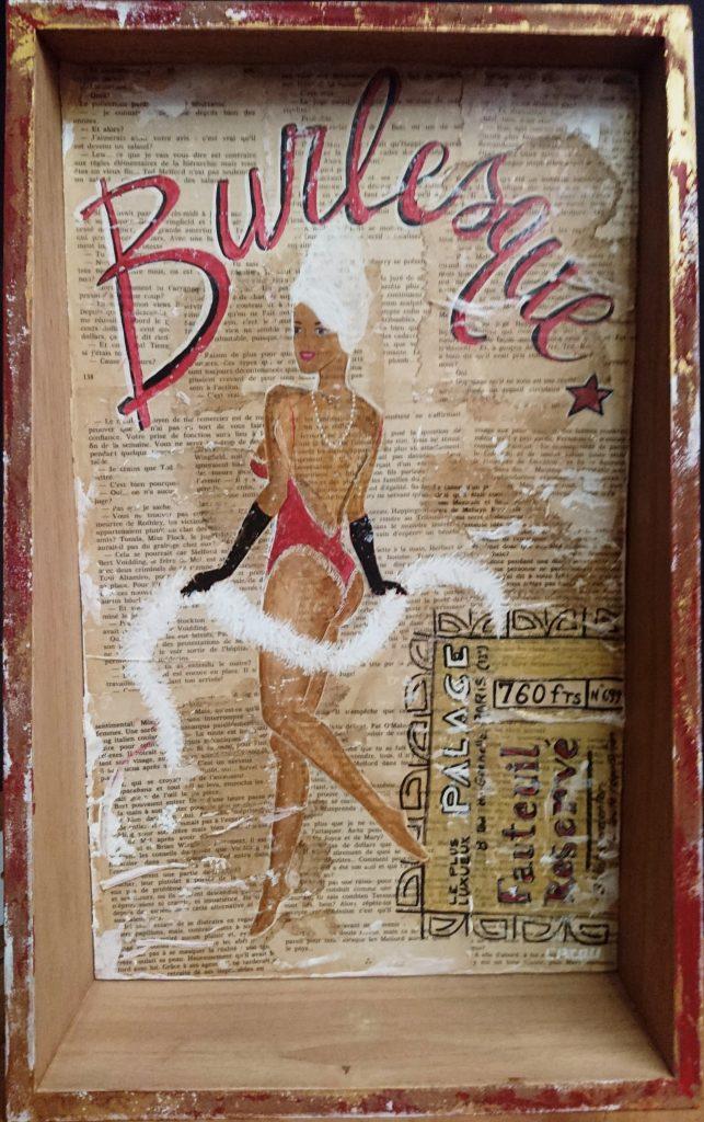Burlesque  30x48 cm 180 €