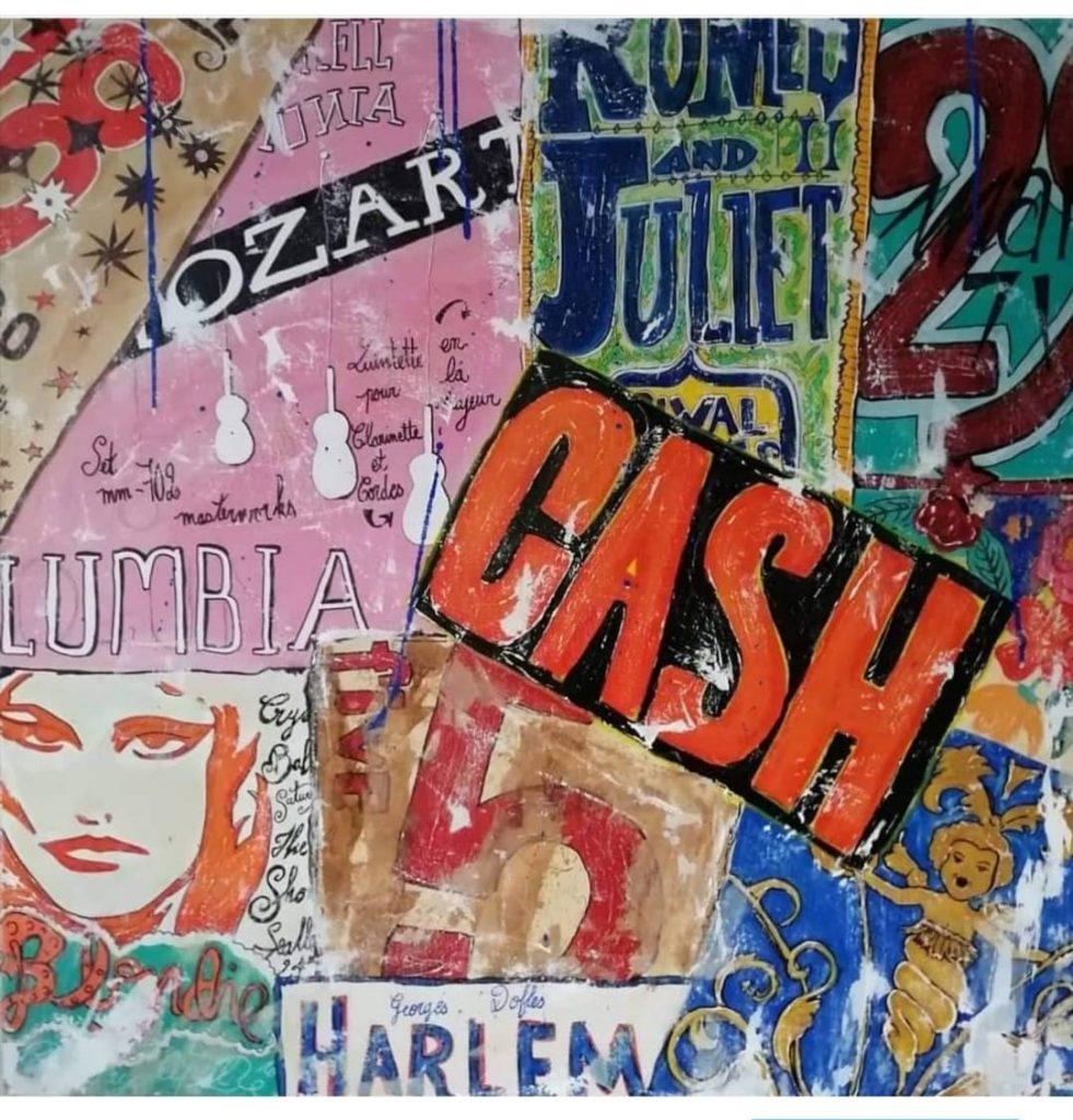 Cash  80x80cm  500 €