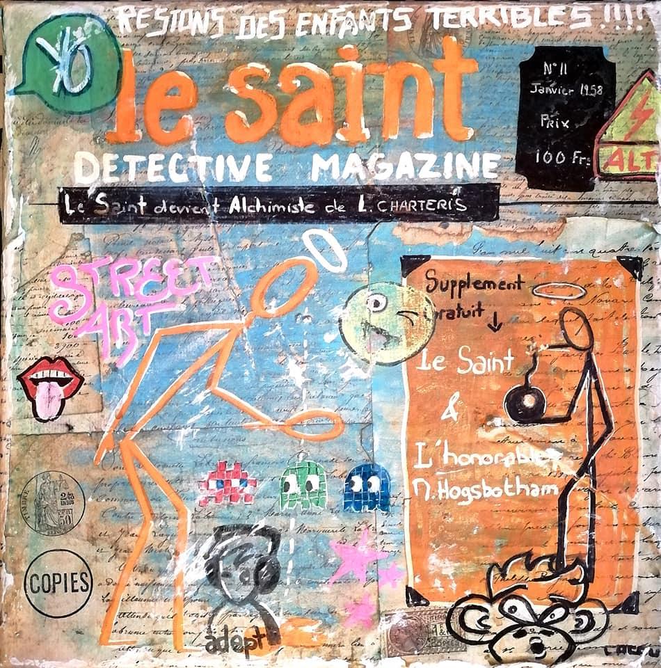 Le Saint   30x30 cm   130€