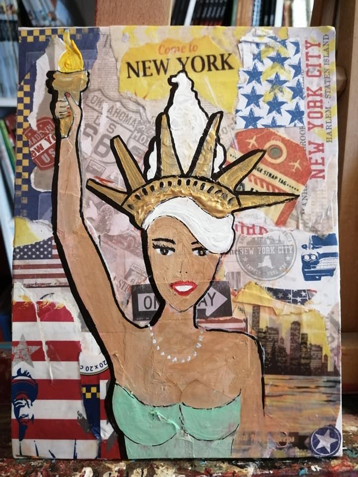Miss Sev : Thème anniversaire cadeau voyage NY